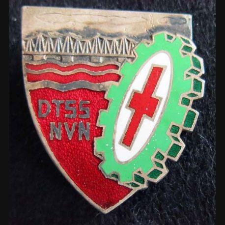 DTSS NVN : direction du Train du service de santé Nord Viet Nam Drago Romainville en émail