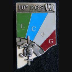 10° RCS :ECQG du 10° régiment de commandement et de soutien de fabrication Delsart