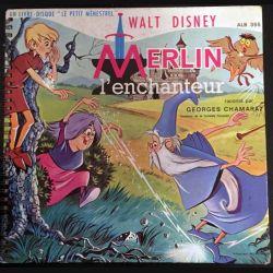 1. Merlin l'enchanteur raconté par Georges Chamarat aux éditions Lucien Adès