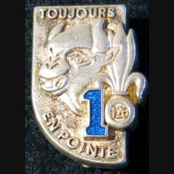126° RI : 1° compagnie du 126° régiment d'infanterie Boussemart translucide