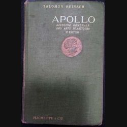 1. Apollo de Salomon Reinach aux éditions Librairie Hachette & Cie