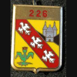 226° RID : 226° régiment d'infanterie divisionnaire Fraisse G. 2777 dos guilloché