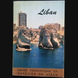 1. Guide touristique et hotelier du Liban distribué par Middle East Airlines - Air Liban