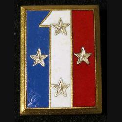 1° CA : 1° corps d'armée Drago Paris Léger éclat d'émail sur la partie bleue.
