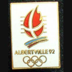 Pin's JO : pin's des jeux Olympiques d'hiver Albertville 92 en émail