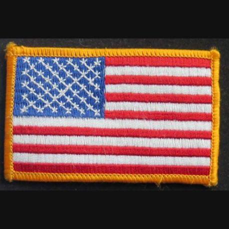 US PATCH : insigne tissu des Etats Unis d'Amérique de dimension 8,7 x 5,5 cm