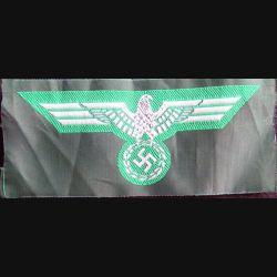 ALLEMAGNE : reproduction d'insigne de vareuse modèle 36 allemand vert