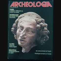 1. Archeologia mensuel n°139 / Février 1980 - Les caravansérails de Turquie mosaïques romaine en Tunisie