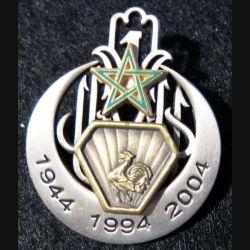 1° régiment de tirailleurs 1944 - 1994 - 2004  Arthus Bertrand
