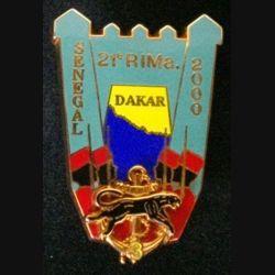 21° RIMA : 21° RÉGIMENT D'INFANTERIE DE MARINE 3° COMPAGNIE DAKAR 2000