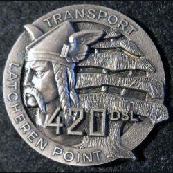 Compagnie transport du 420° DSL Delsart Sens