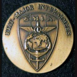 EMIA : médaille de l'état major interarmées sans marquage du fabricant