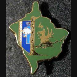 4° compagnie du 126° régiment d'infanterie Kosovo 2001 Boussemart