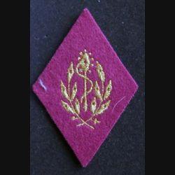 losange de bras modèle 45 : insigne tissu d'auxiliaire service santé cadre