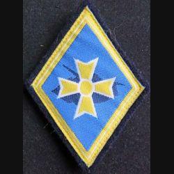 1° BB : insigne tissu de la 1° brigade blindée bleu roi