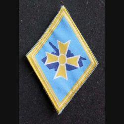 1° BB : insigne tissu de la 1° brigade blindée bleu clair