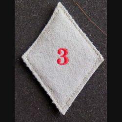 losange de bras modèle 45 : losange de bras du 3° GLCAT groupe logistique du commissariat de l'armée de terre troupe