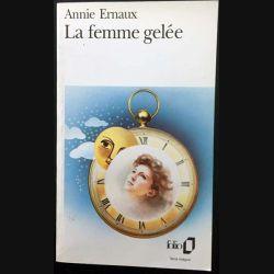 1. La femme gelée de Annie Ernaux aux éditions Gallimard