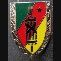 JUSTICE : insigne métallique de la justice camerounaise de fabrication made in France