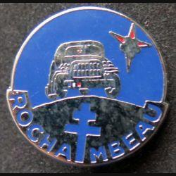 ROCHAMBEAU : insigne métallique du groupe Rochambeau de fabrication Ballard retirage non marqué