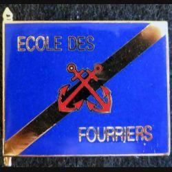 ECOLE DES FOURRIERS : école des fourriers fabrication JY Segalen en émail