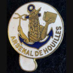 ARSENAL HOUILLES : arsenal de Houilles Drago Paris en émail