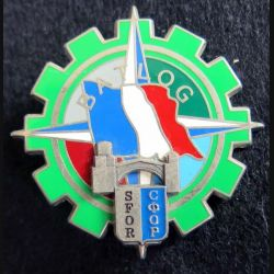BATLOG : bataillon logistique de la division multinationale sud est  SFOR Pichard-Balme