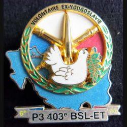 Escadron de transport 403° bataillon de soutien logistique Boussemart