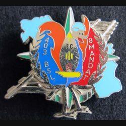 Escadron de circulation du 403° bataillon de soutien logistique Balme Saumur
