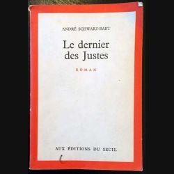 1. Le dernier des Justes de André Schwarz-Bart aux éditions du Seuil