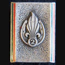 2° REI : 2° régiment étranger d'infanterie Drago Paris en émail