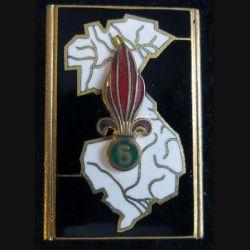 5° régiment étranger d'infanterie Drago Paris G. 1154 en émail
