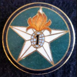 compagnie montée du 1° Régiment étranger d'infanterie Drago Paris en émail
