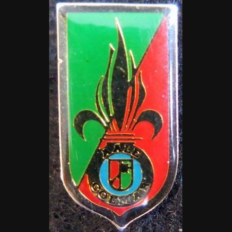 pin's métallique de l'amicale des anciens de la Légion Etrangère de Colmar