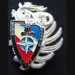 14° RPCS : ECQG du 14° RPCS Bosnie DMNSE Ballard finition ARGENT avec poinçon