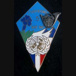13° BCA bataillon d'Infanterie N° 5 de la FORPRONU Arthus Bertrant Paris