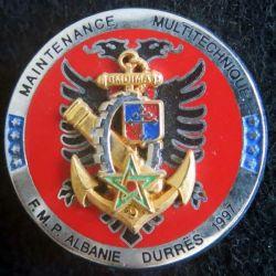 2° Compagnie du Matériel 9° division d'infanterie de marine FMP en Albanie