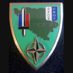 EM SFOR: état major du REPFRANCE à Sarajevo Delsart Sens