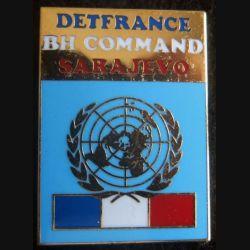 DETFRANCE BH COMMAND  Sarajevo Balme Saumur