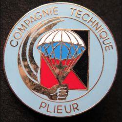 ETAP : insigne métallique de la compagnie technique de plieur de l'école des troupes aéroportées de fabrication Ballard