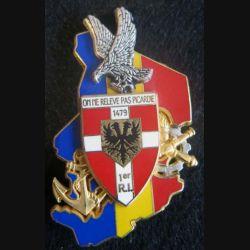 1° régiment d'infanterie  Epervier Tchad en 1994  Boussemart