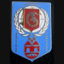 HQ Secteur SARAJEVO FORPRONU 6° mandat 1995 Balme Saumur