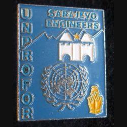 ngénieurs du génie Sarajevo FORPRONU fabrication locale peint