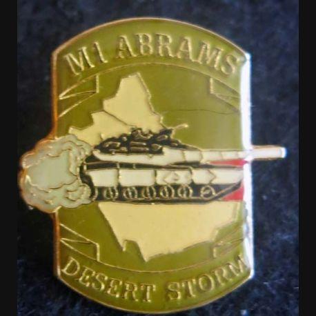 DESERT STORM : pin's métallique du M 60 Patton de fabrication Sesa