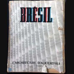 1. Brésil l'architecture d'aujourd'hui Septembre 1947 de Alexandre Persitz