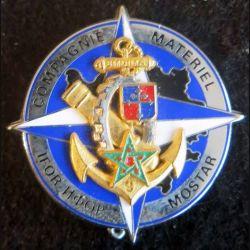 Compagnie du Matériel de la 9° BMDIMA IFOR  MOSTAR  Boussemart