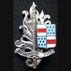 PROMOTION ECAT : insigne métallique de la promotion Duc de Sully de l'Ecole du commissariat de l'armée de terre ECAT de fabrication Ballard G. 4035