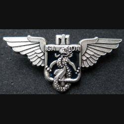1° GAOA :  Insigne métallique du 1° groupe aérien d'observation de l'artillerie de fabrication Ballard retirage