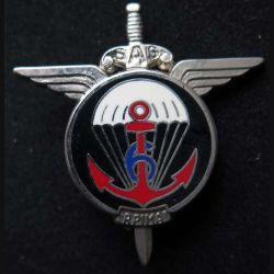 6° RPIMA : 6° régiment parachutiste d'infanterie de marine Ballard H. 721 modèle argenté