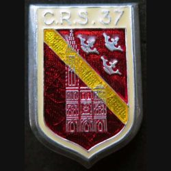 CRS 37 : Compagnie républicaine de sécurité n° 37 de fabrication Ballard fabrication prestige translucide